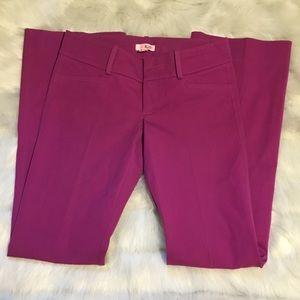 Size 4 Lilly Pulitzer pants purple